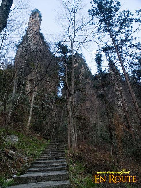 3,878 steps stairway