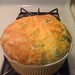 Broccoli and cheese souffle
