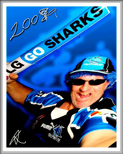 Scott Maxworthy Sharks Fan