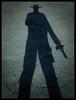 The shadow (Errlucho) Tags: chile shadow sombra hombre pistola vaquero duelo pistolero errlucho