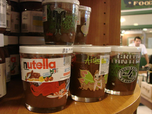 Nutella Glasses!!!!