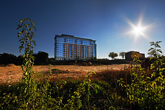 Weston Place: Towering In Lonely Splendor Over a Now Vacant Lot