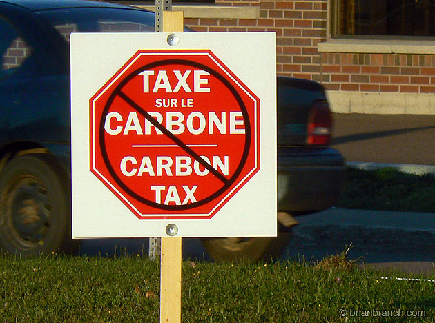 Do not stop the carbon tax?