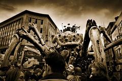 Invasion (BarneyF) Tags: street people liverpool robot spider invasion 08 merseyside capitalofculture lamachine
