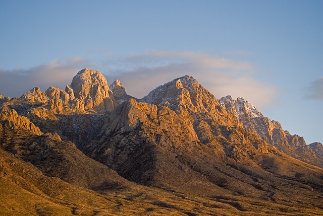 Snow in the Organ Mountains