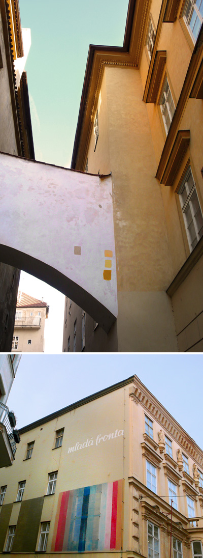 Pantones en Praga