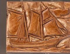 ξυλινο κουτι - wooden small box
