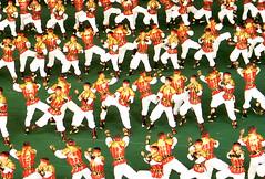 Men Marshal Arts Performers (Ray Cunningham) Tags: tourism del republic north games korea tourist peoples american mass democratic norte pyongyang corée corea dprk arirang koryo 平壤 北朝鮮 корея 평양 조선민주주의인민공화국 릉라도 阿里朗 raycunningham 5월1일경기장 rungrado raymondcunningham zaruka raymondkcunninghamjr ©raymondkcunninghamjr northkoreanphotography raycunninghamnorthkoreanphotography dprkphotography