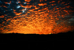 Pharaoh's Sunset (rico007) Tags: sunset red clouds 35mm egypt sharmelsheikh naamabay bellhowell