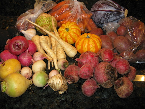 What's in CSA box #17