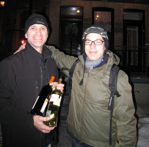 Jean et Anthony à Montréal