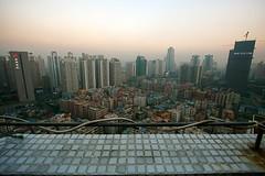 Gangxia (JesseWarren) Tags: china city urban angle wide aerial shenzhen ultrawide 1022 10mm gangxia