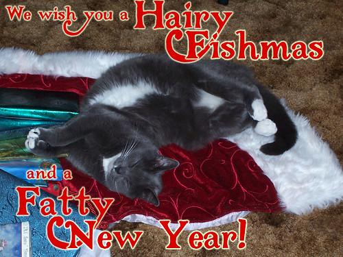 We Wish You a Hairy Fishmas