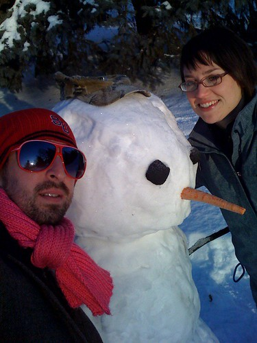 w/snowman in St Charles