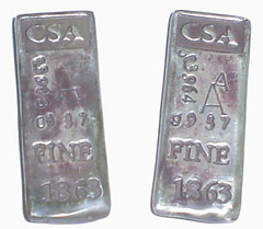 CSA Ingot Fricke - SB - 1-2 obv