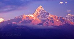 Macchapucchre (Fishtail Mountain) (T Ξ Ξ J Ξ) Tags: nepal nikkor pokhara soe fishtail d300 naturesfinest macchapucchre mywinners abigfave teeje