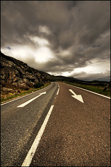 Directions (manlio_k) Tags: road sky signs clouds scotland bravo wide sigma arrows 1020mm hdr manlio decisions castagna photomatix tonemapped tonemap decisioni manliocastagna manliok