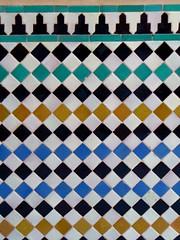 Alhambra Tiles 4 (roberto_venturini) Tags: spain tiles alhambra granada andalusia moor moresque alicatado alizares