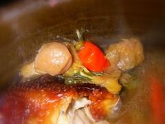 碳烤梅子桶雞(仿雞)