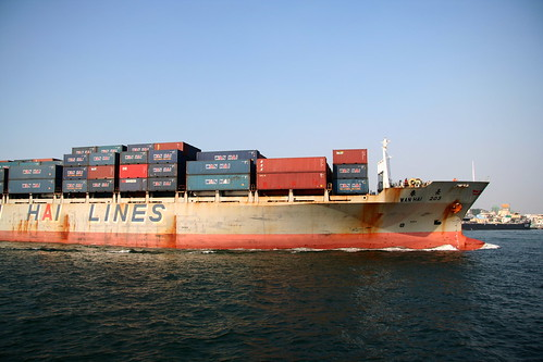 貨櫃船 by YC&Enid.