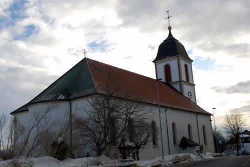 église des bois