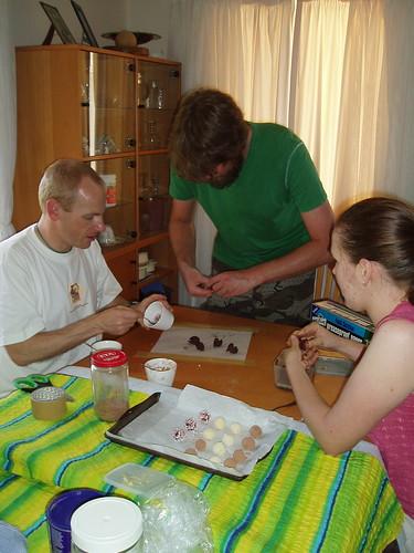 Rolling truffles