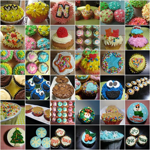 A year of cupcakes 2008