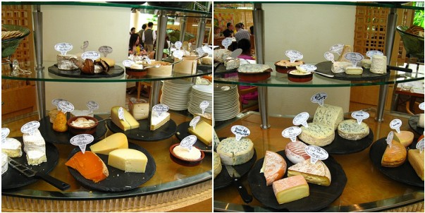 Cheese Selection @ Champagne Brunch, Ritz Carlton