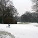 Volkspark in winter 1
