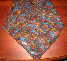 Karen's Herringbone Neck Warmer
