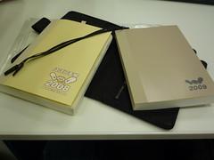 ほぼ日手帳 2008 to 2009