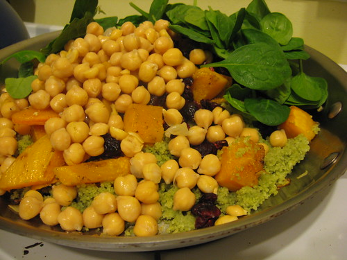 Butternut Squash, Chickpea and Couscous Salad