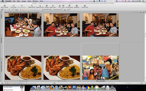 Nikon D90 RAW / NEF thumbnails in ViewNX
