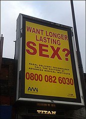 How long is it supposed to last ? Billboard- Controversial Australian Ads