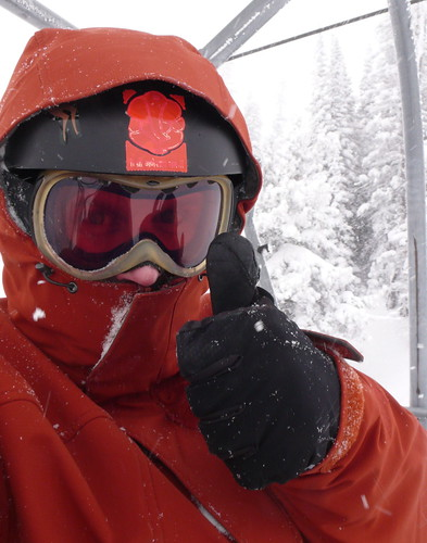 hoods up for Targhee