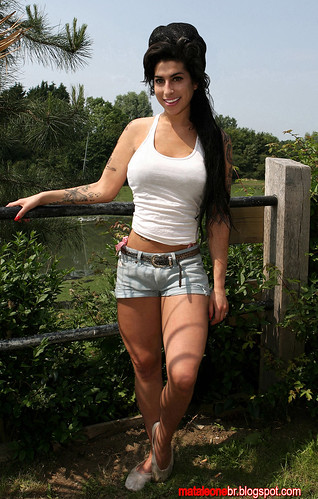 Singer Amy Winehouse photos