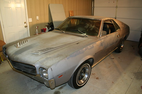 1969 AMX Project Car