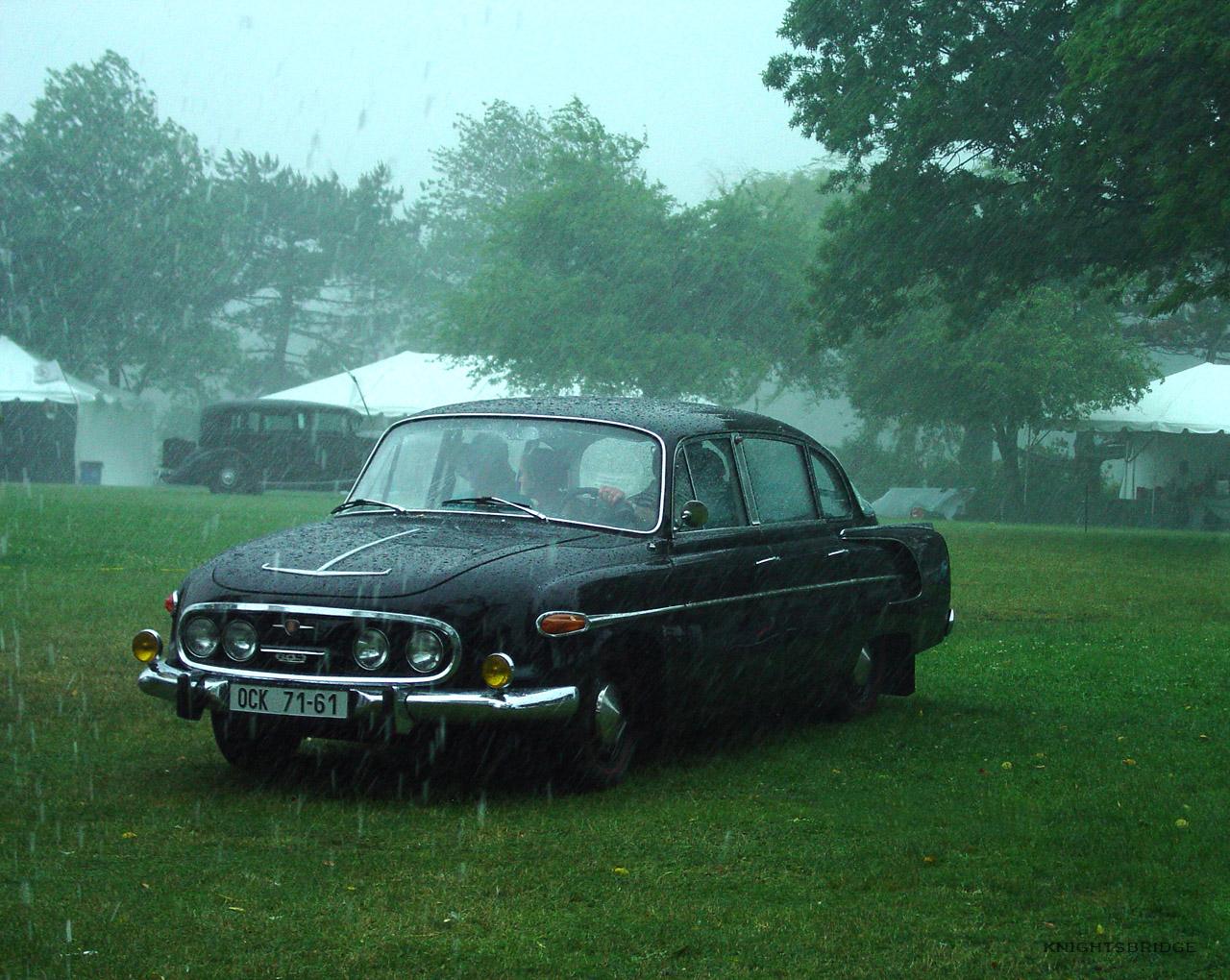 Tatra 603 go back