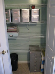 Office closet, after