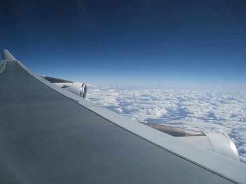 Cross-Atlantic flight