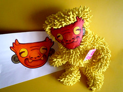 TIXINDA + TOLOACHE (tixinda) Tags: mxico arte fabric jaguar diseo juguetes peluches personaje tela toloache prehispnico xagu tixinda bernbaos