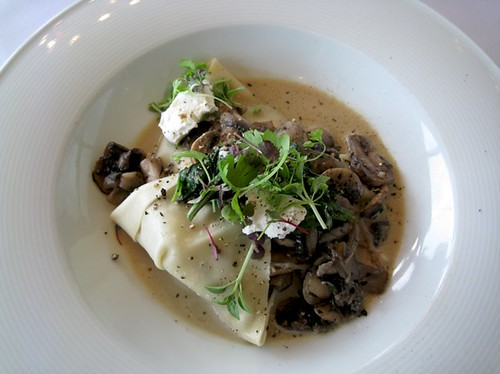 Raviolo with Wild Mushrooms, Cruise, Circular Quay