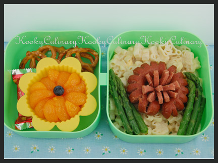 Bento #54 - A Flowery Day
