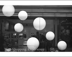 New shopping experience 2 (managerri) Tags: blackandwhite bw reflection window shopping balls bn shoppingcenter vetrina soe biancoenero palle riflesso blueribbonwinner blackwhitephotos mywinners citrit theperfectphotographer goldstaraward rubyphotographer