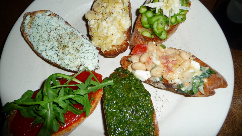 Bruschetta at 'ino