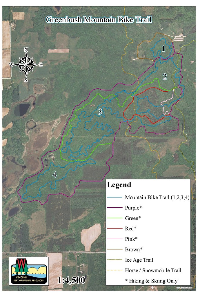 KMNU Greenbush New MTB Trails