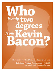 Whi is only two degrees from Kevin Bacon?