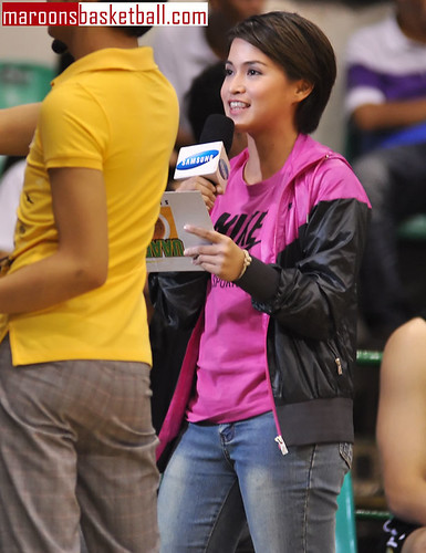 New UP courtside reporter Erika Flores