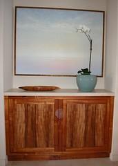 White Koa Cabinet 2