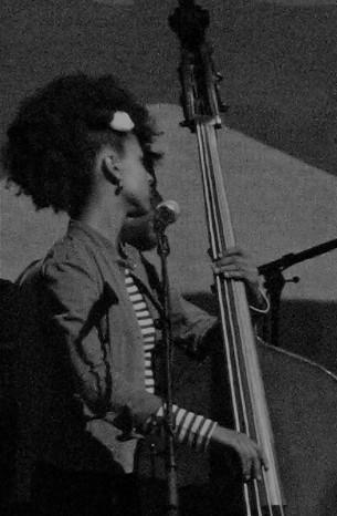 Esperanza in black and white
